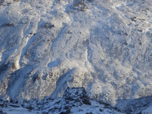 December 2015 and the Hidden bothy part of the mountain?