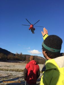 Lochaber MRT Photo - Farewell Royal Navy Sea Kings