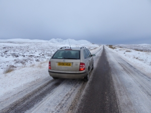 The A832 the road of destitution.