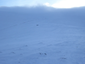 The vastness of the Cairngorms.