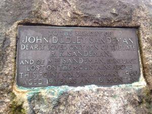 1960 Sandeman plaque