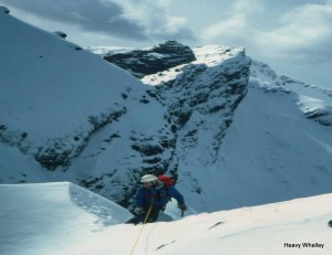 Why do we climb in winter - this is why the Skye ridge - photo Ray Shafron.