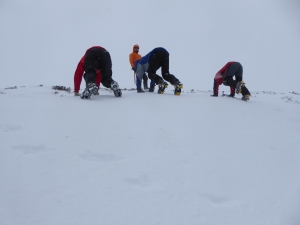 Early days in crampons lots to learn?