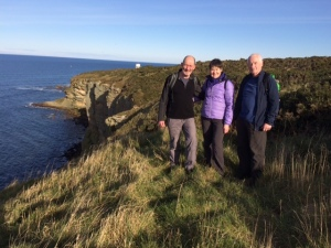 Well worth a visit to the Moray Coast - wonderful scenery and walking!