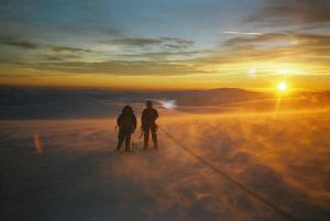 Lochnagar sun set