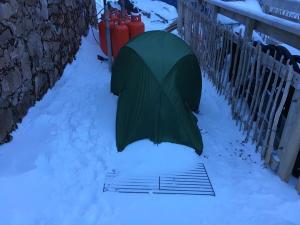 Tent at CIC Hut Ben Nevis!