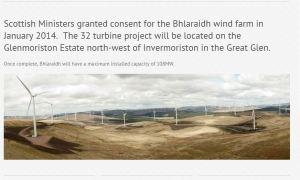 windfarm Invermorrision
