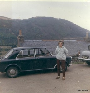 1963 Mum Ben Nevis path