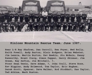 1987 The RAF Kinloss MRT - Toms boys