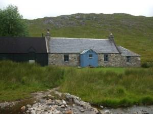 2010 Ben Alder Cottage Aug IN THE SUMMER