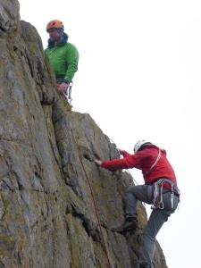 The Bairns climbing!