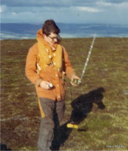 1973 Heavy on Ben Rinnes with a PLB training with the helicopter! Yes 1973