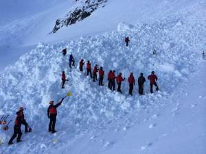 Modern Avalanche searching following in the footsteps of the past.