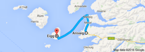 ariskaig to Eigg