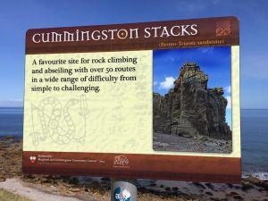 Cummingson cliff