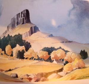 Eigg Painting