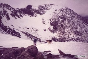 1983 heavy & Teallach top of Goat Track Gorms 1983-001