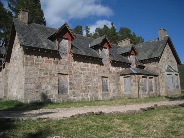 Derry Lodge in Glen Lui, Cairngorms