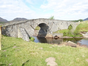 Garva Bridge a great feat over the Spey.