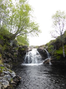 Bonnie wee waterfall