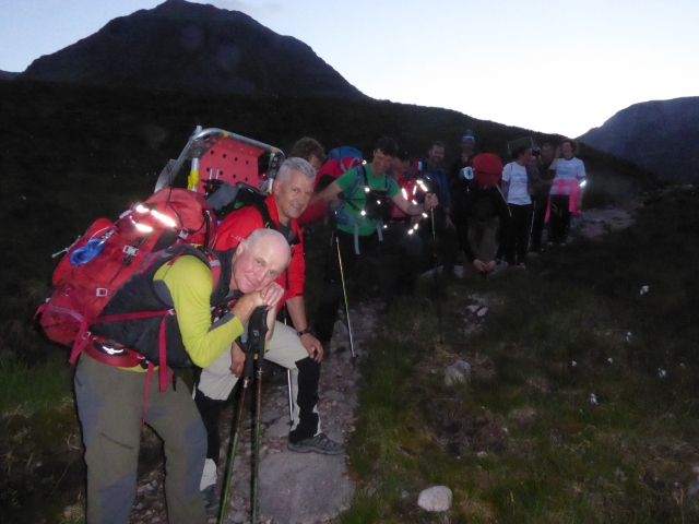 Some of the hard working Torridon Mountain Rescue Team a great bunch of people who along with the Celtman volunteers make this a truly unique experience.