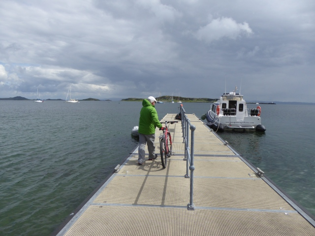 2016 HEADING OFF THE FERRY JURA