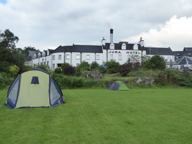 "Camp site ""The Field "" by the distillery and Hotel"