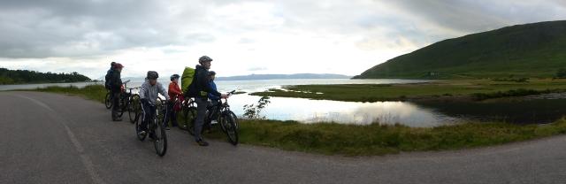 2016 Outfitmoray biking by loch July