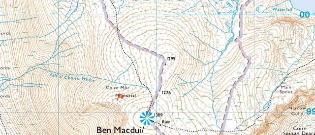 Ben Macdui and the Memorail
