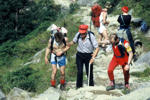 1989 Ben Nevis with the Milton Mountaineers a joint effort by RAF Kinloss & RAF Leuchars Mountain Rescue Teams.