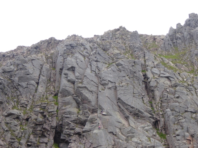 Climbers on The Magic Crack?
