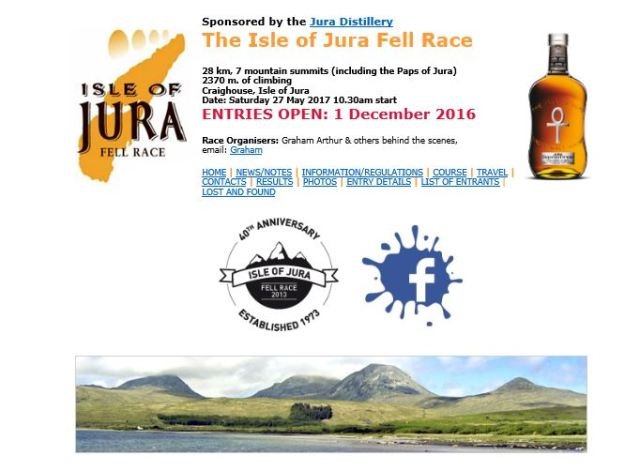 jura hill race