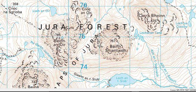 Jura map Corbett