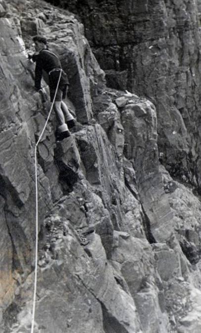 1956 on Waterfall Buttress