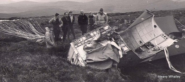 The F111 Capsul of a previous incident the crew survived on this crash and it was only a few weeks earlier.