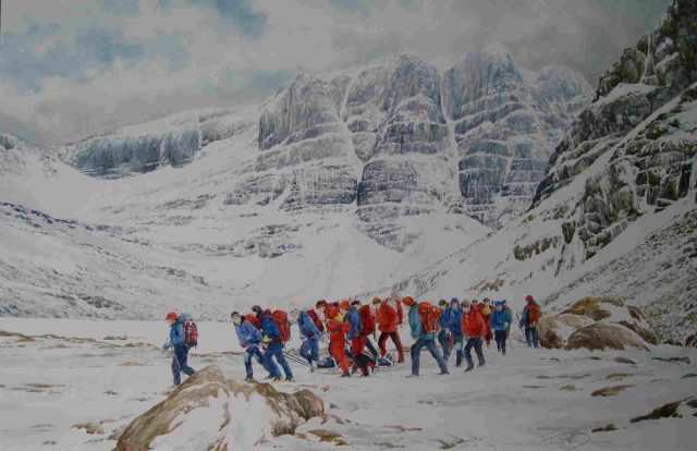 The Beinn Eighe Painting