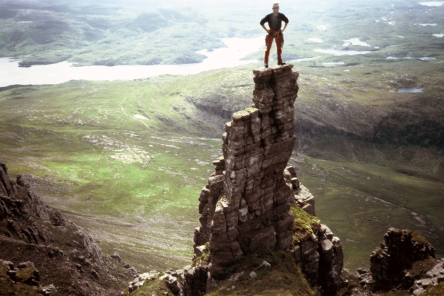 Great days in the past on Quinag