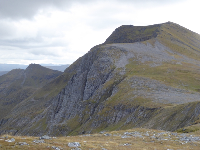 A closer look at the Gealla Buttress.