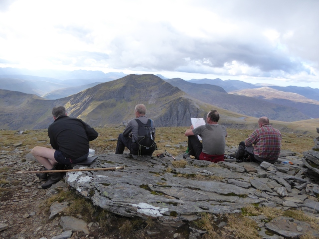Great view from Sgurr Mor