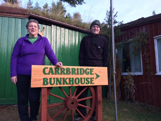 The Classic bunkhouse at Carrbridge.
