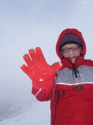 Check your winter gear if your gloves are knackered get rid!