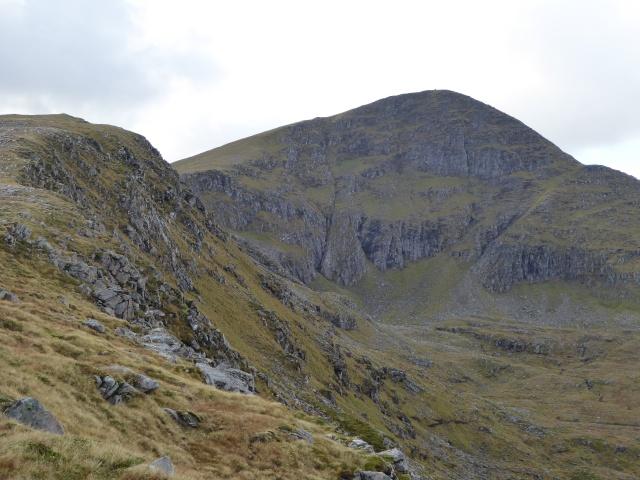 Great ridge onto Sgurr Mor