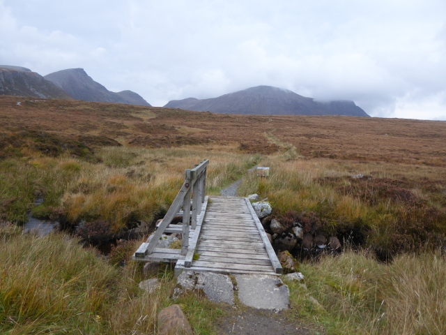 last views of Quinag as the weather cleared.