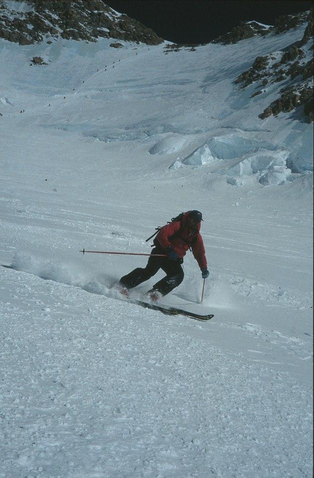 1996-Alaska- Dave-Peel-ski - Denali