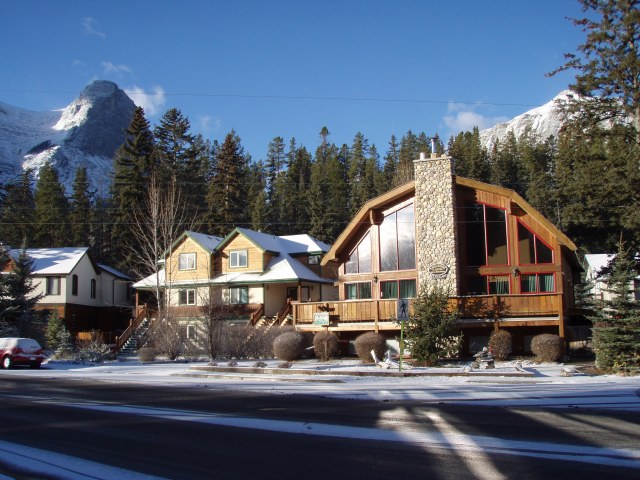 The best B&B in Canmore.
