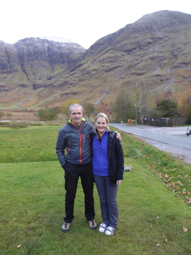Davy Gunn and Janine meet in Glencoe a poignant meeting for both.