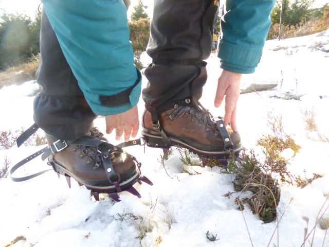 Checking the crampons are on and each checking each other? When was the last time you checked yours?