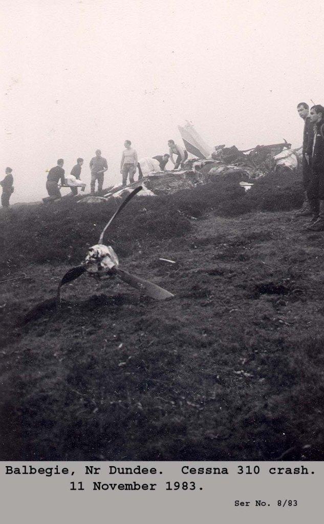Balbeggie crash - 4 survivors incredible.