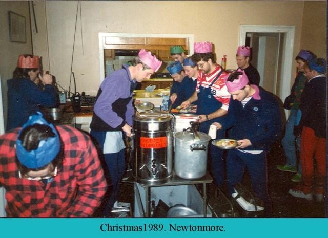 RAF Leuchars MRT Christmas Day at Newtonmore.