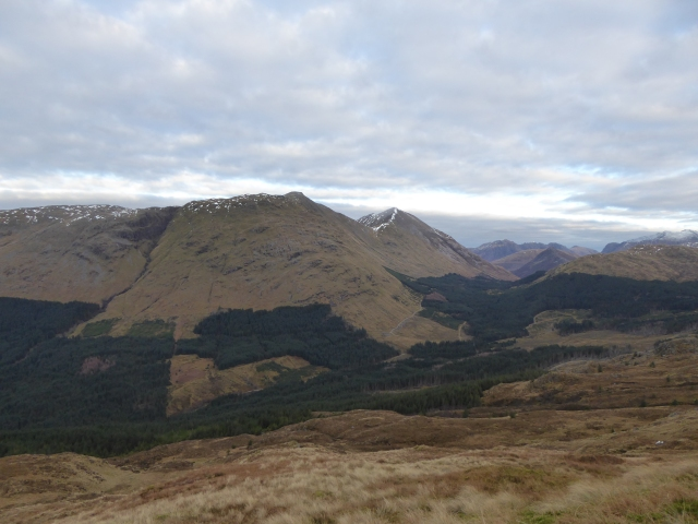 The wonderful Beinn a Bheitheir - see Hamish Browns comments on this hill in winter .